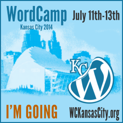 I'm Going to WordCamp Kansas City 2014