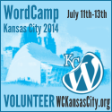 I'm a Volunteer at WordCamp Kansas City 2014