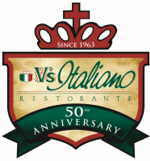 V's Italiano Ristorante - WordCamp Kansas City 2014 In-Kind Sponsor
