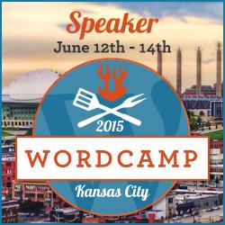 I'm Speaker at WordCamp Kansas City 2015