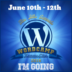 I'm Going to WordCamp Kansas City 2016