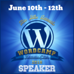 I'm a Speaker at WordCamp Kansas City 2016