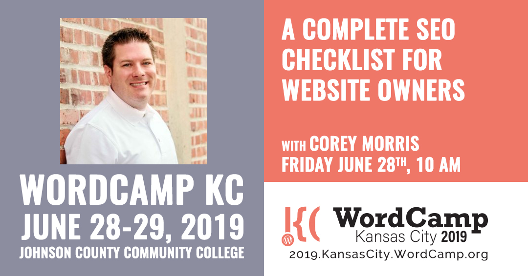 A Complete SEO Checklist for Website Owners with Corey